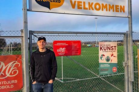 Den spillende træner Rasmus Brasch spillede hele kampen, da IF Midtdjurs vandt med 3-1 over et godt hold fra Aarhus Fremad