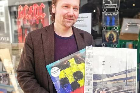 Björn Lydén har været ejer af den kendte pladebutik Badstuerock i Badstuegade i det central Aarhus siden 2012.