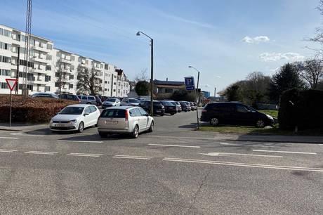 Det er dette areal på hjørnet af Trøjborgvej og Skovvejen, som Aarhus Kommune ønsker at kigge nærmere på for at undersøge, om det kan byudvikles.