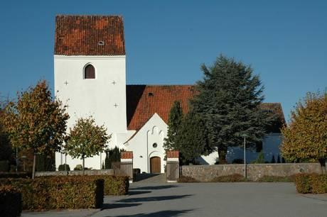Tranbjerg Kirke.