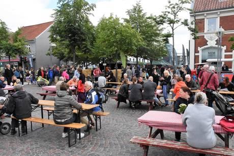 Adelgade i Skanderborg har med jævne mellemrum været afspærret. Det sker igen 1. maj. Arkivfoto