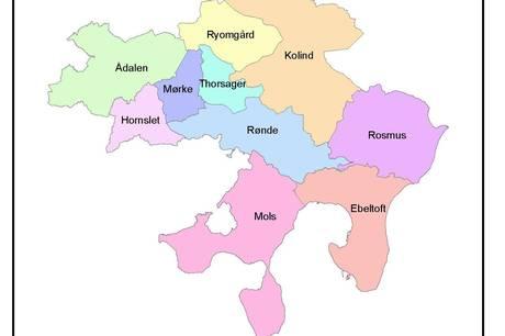 Kilde: Syddjurs Kommune Befolkningsprognose til Budget 2022