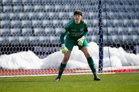 Katrine Svane er  AGF Kvindefodbolds nye anfører.  Foto: AGF Kvindefodbold.