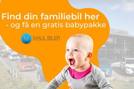 Et nyt koncept hos Maul Biler i Skanderborg gør det lettere for forældre at købe bil. Pressefoto