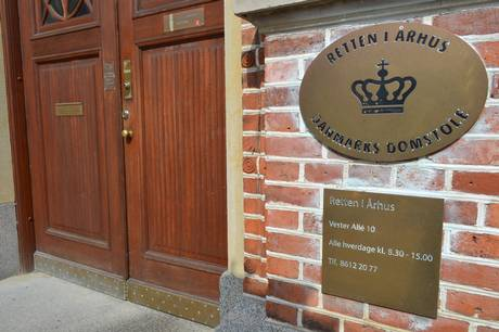 En 38-årig mand blev torsdag ved Retten i Aarhus dømt for at have slået sin mor ihjem med adskillige knivstik.