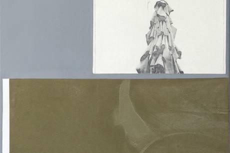 Et af billedkunstner Else Ploug Isaksens værker, der kan ses på udstillingen. Prfoto