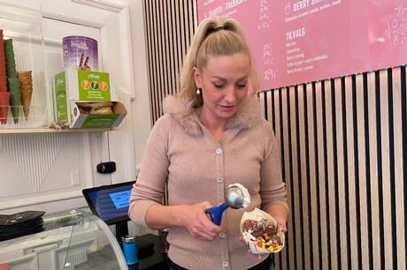 Trine Christiansen har slået dørene op til et univers af søde sager i Berry Dreams i Vestergade 8A. Foto: Camilla Kjærgaard Olesen