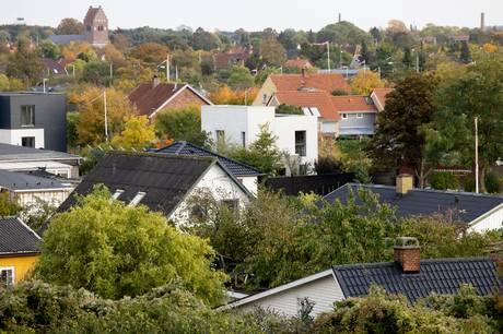 Som i resten af landet stortrives boligmarkedet i Østjylland. Arkivfoto: Thomas Borberg