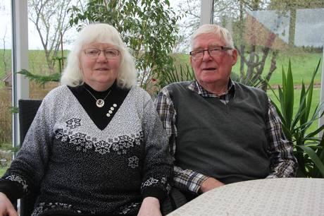 Inger og Tage Laursen har 14. maj været smedet i hymens lænker i samfulde 60 år.