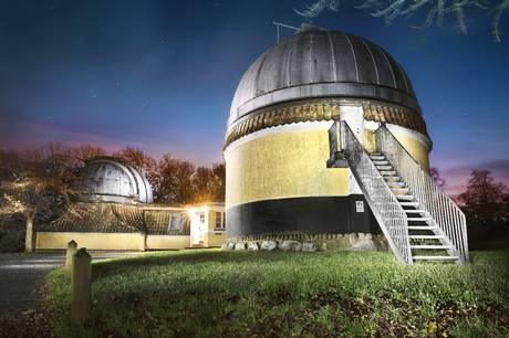 Stor millionstøtte til Ole Rømer-Observatoriet i Aarhus. Foto: Maria Randima, AU Foto, Aarhus Universitet.