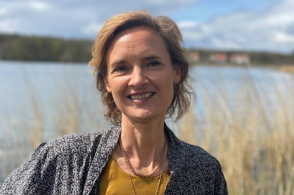 Helle Dahl Eriksen vil hjælpe os med et sundere liv gennem den rigtige kost. Foto: Michael Wulff