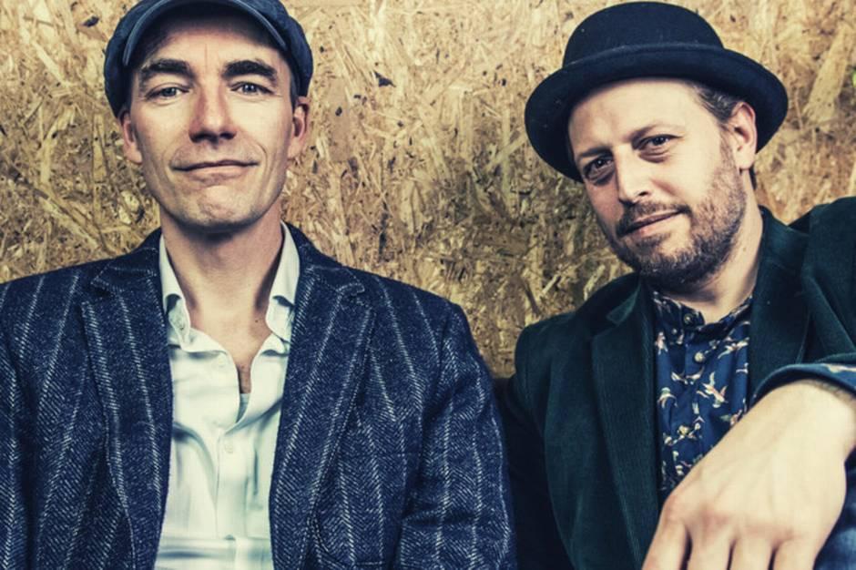 De to musikere Stefan Brask og Anders Graae er begge dygtige sangskrivere fra Ry-området.