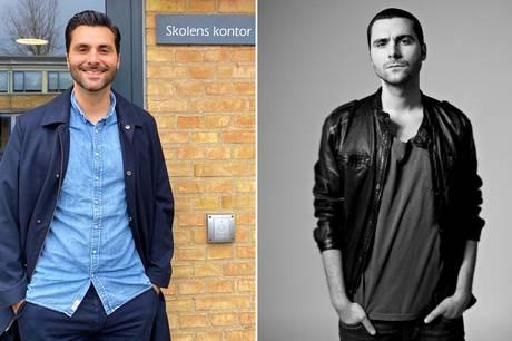 40-årig skoleleder kontra 30-årig popsanger. Det er ikke helt tilfældigt, hvis du synes pop-udgaven minder om Adam Levine fra Maroon 5.