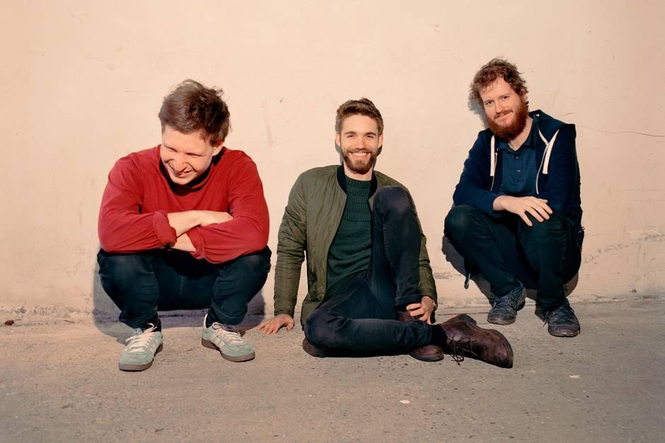 Gruppen 'Hvalfugl' består af Jonathan Fjord Bredholt, Jeppe Lavsen og Anders Juel Bomholt. Prfoto