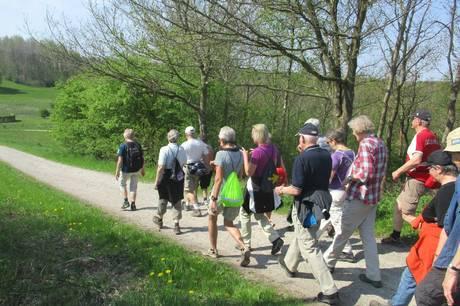 At gå en tur er også motion og en gåtur har langt større motionseffekt end sit rygte, fastslår Fodslaw. Prfoto