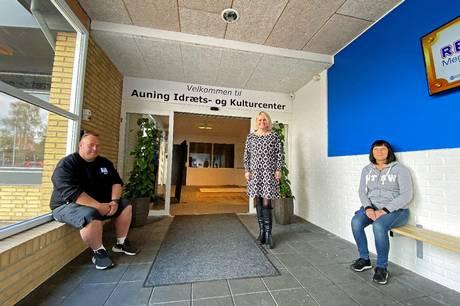 Ansættelsen af ledergruppe skaber større potentiale til at skabe et lokalt kraftcenter i Auning, vurderer bestyrelsen.