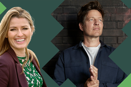 Thomas Vinterberg og Anne Sophia Hermansen kan 27. maj opleves i FOFs onlinestudie, hvor alle får mulighed for at være med. Prfoto