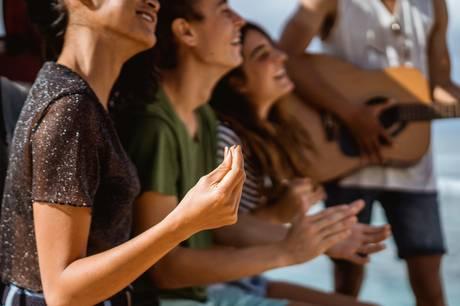 Formålet er at styrke fællesskabet, når 11 sogne synger sammen.