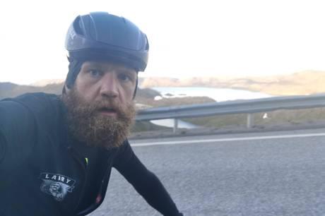 Rasmus Quaade kommer til Kulturhuset mandag 31. maj, hvor han bl.a. fortæller om en ekstrem cykeltur til Nordkap. Prfoto
