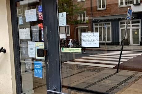 Fru Nielsens Bageri har lukket butikkerne på Trøjborg og i Aarhus V på grund af skadedyr. Foto: Jonas Wrede Hansen.