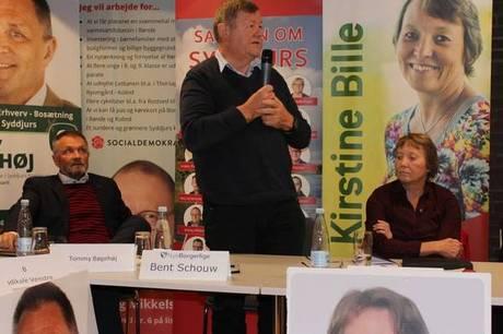 Bent Schouw, indtil for nylig lokalformand hos Nye Borgerlige Randers, Norddjurs og Syddjurs, bliver spidskandidat i Syddjurs.