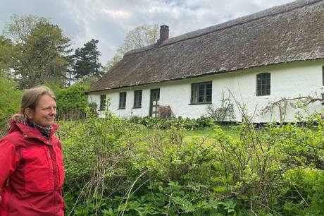Agri præsten Anne Hanson erindrer familien Olsen, som i 1931 flyttede ind i Skovløberhuset langt inde i Mols Bjerge. Den stråtækte ejendom blev rammen om et stærkt familieliv, sammenhold og det daglige arbejde med at plante skov på de sandede bakker.