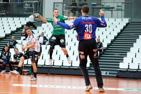 Lars Skaarup har forlænget sin kontrakt med Skanderborg Aarhus Håndbold. Arkivfoto: Ole Nielsen