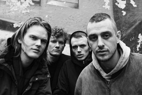 Den danske indierock gruppe, Blaue Blume, spiller i Kulturhuset Skanderborg 11. juni. Prfoto