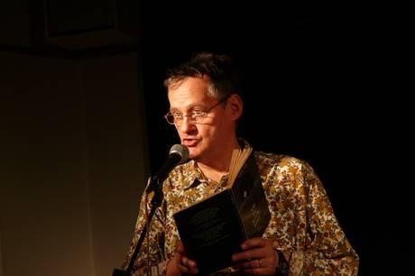 Niels Hav er blandt deltagerne ved LiteratureXchange. Prfoto