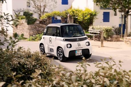 Citroën tager den lille Ami til Danmark. Den byder dog på beskeden motorkraft og rækkevidde.