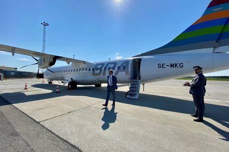 En nordmand med et svensk flyselskab flyver ind i dansk luftrum og starter tre nye flyruter.