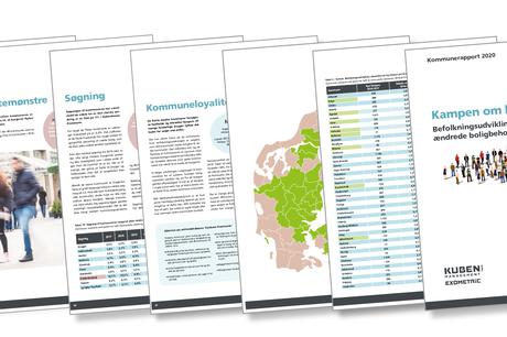 I den nyeste udgave af Kommunerapporten, der udarbejdes af Exometric for Kuben Management, fremgår det, at 40 procent af de nuværende Syddjurs borgere kun vil bo i Syddjurs, mens 20 procent går med flytteplaner ud af kommunen