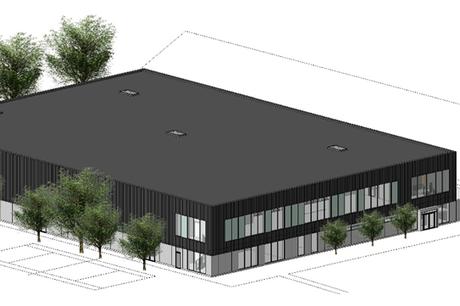 Opførelsen af en ny multihal med plads til 700 tilskuere og en hal, der skal huse to spritnye padeltennis baner, er gået i gang og forventes færdig 1. august 2022.