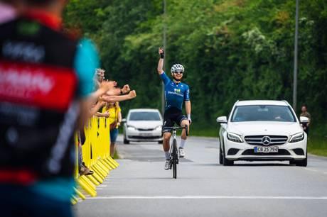Søren Vosgerau fra Skanderborg vandt i weekenden lørdagens A-klasseløb i Rødekro. Foto: Arne Matthisen