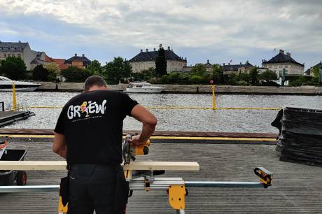 SmukEvent, som Skanderborg Festivalklub står bag, er ansvarlige for fanzonen på Ofelia Plads i København, når EM i fodbold lige om lidt sparkes i gang.