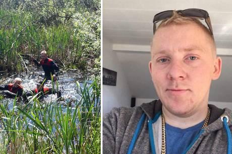 Politi og redningsfolk har ledt med helikopter, hunde, dykkere og droner efter 31-årige Dennis Tingskov.