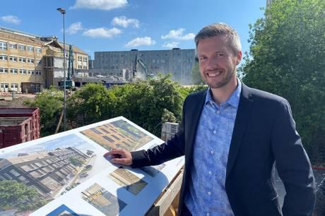 Murene, tagstenene og vinduerne fra Silvan og Stark ved Daugbjergvej genbruges i et nyt og bæredygtigt byggeri med navnet, Trælasten.  Det har som den eneste af kun to i Danmark fået en platin-pris for sin bæredygtighed.