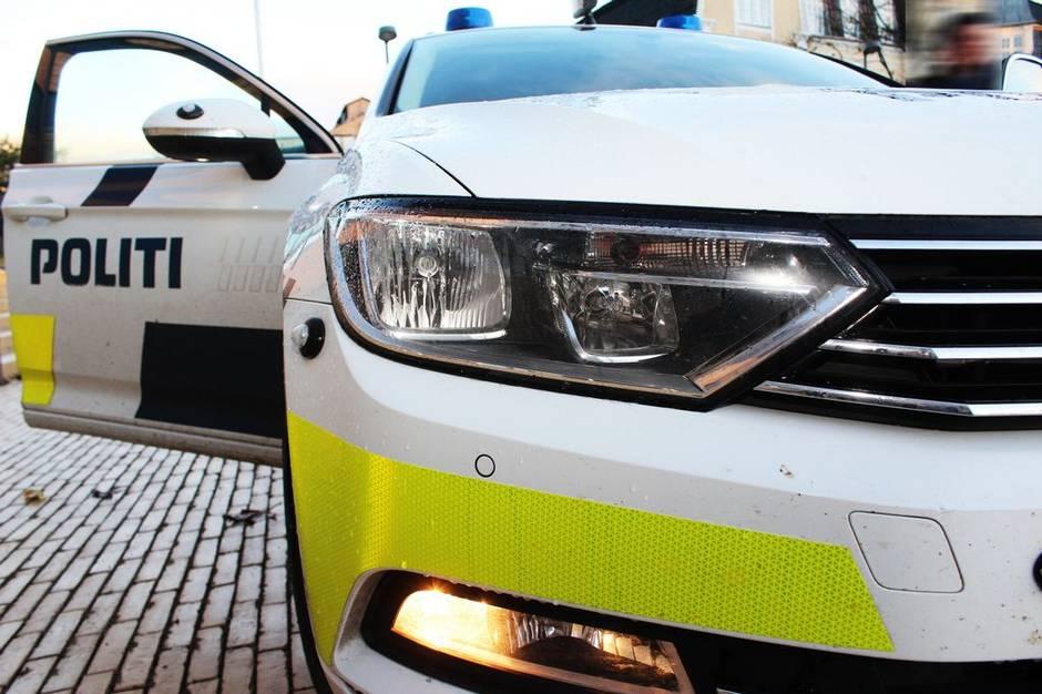 Ung mand blev efter en længere politijagt stoppet og anholdt.