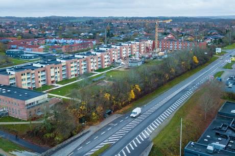'Blokkene i Højvangen' har i de seneste år gennemgået en meget stor forandring, blandt andet via gennemgribende renoveringer og en lang række projekter og tiltag. Alligevel er området havnet på en forebyggelsesliste udarbejdet af Indenrigs- og Boligministeriet. Arkivfoto