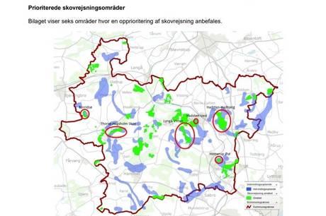 Nye skovområder ved Borridsø, Hinnerup og Hadsten-Hadbjerg skal beskytte grundvandet og gøre områderne mere attraktive for borgerne