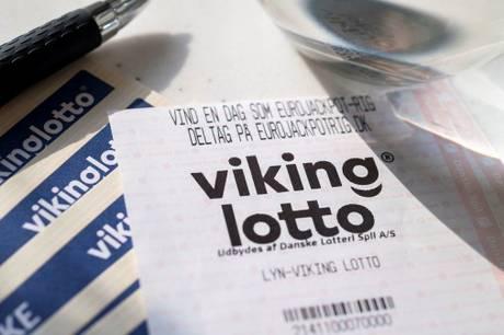 Onsdag aften kom der en dansk millionær i Vikinglotto.