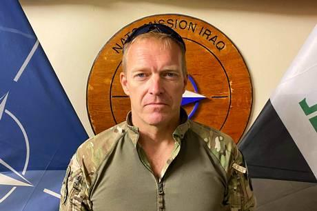 49-årige Peter Sporleder har været feltpræst i godt 20 år. Der stilles ifølge Sporleder samme fysiske og psykiske krav til feltpræster, som der gør til andre soldater. Foto: Privat