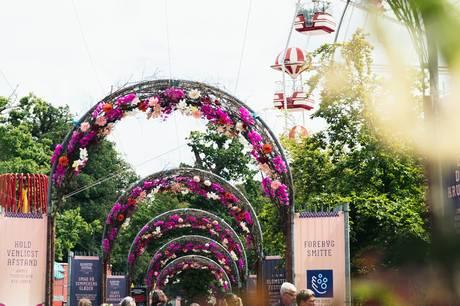 Tivoli Friheden byder for anden gang indenfor til Blomsterfestival. Prfoto