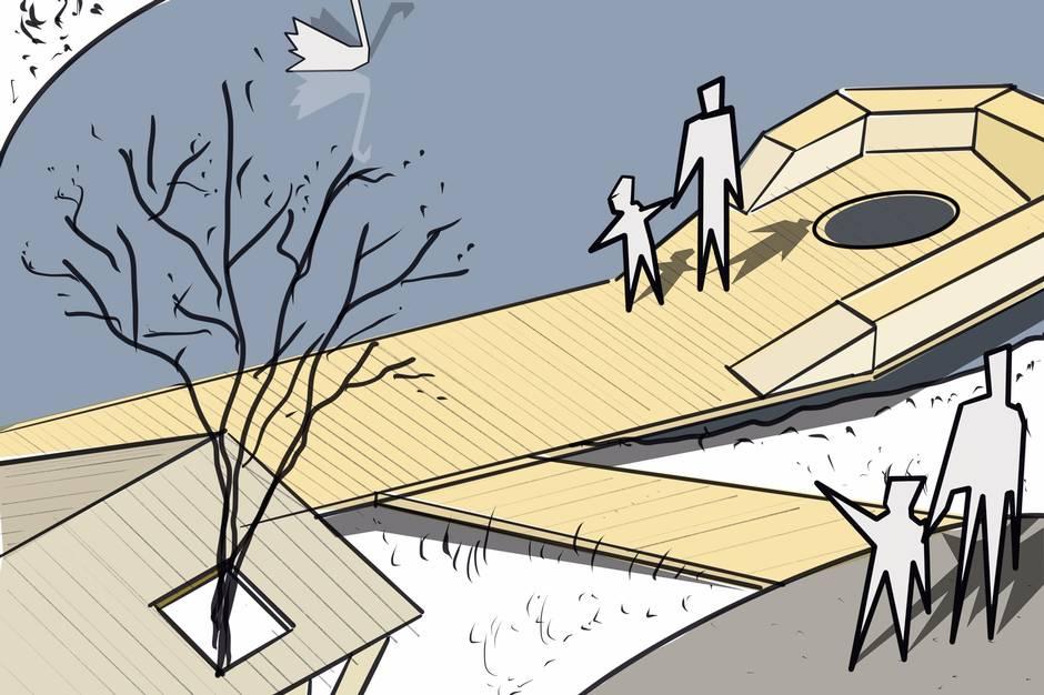 Donationer baner vejen for diverse naturprojekter i Eskelunden.