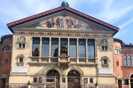 Kom i juli på guidet rundtur i Aarhus Teater. Prfoto