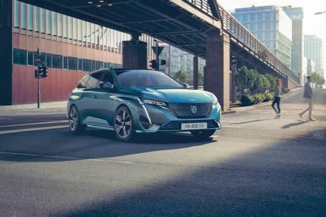 Peugeot viser de første billeder af den nye 308 stationcar, der også kommer som plug-in hybrid.