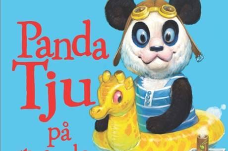 'Panda Tju på stranden' er en skøn billedbog, der er god til at snakke om hvem man er, og hvad man er god til. Prfoto