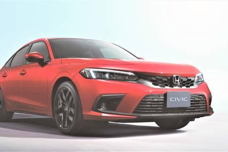 Honda løfter sløret for den nye generation af Civic, der dog først lanceres herhjemme i slutningen af 2022.