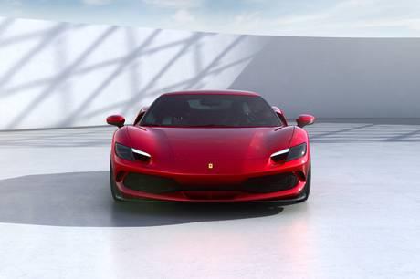 Superbilsmærket, Ferrari klar med plug-in hybriden 296 GTB, der har en systemydelse på 830 hk, og klarer 25 km på en opladning