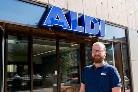 Fredag 16. juli åbner en ny Aldi-butik på den prominente adresse Rådhuspladsen 3 i Aarhus C.